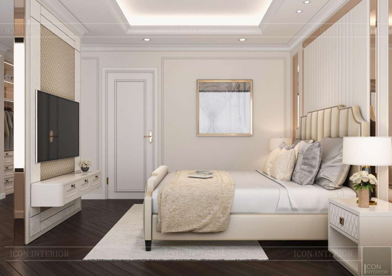 phòng ngủ tân cổ điển đơn giản