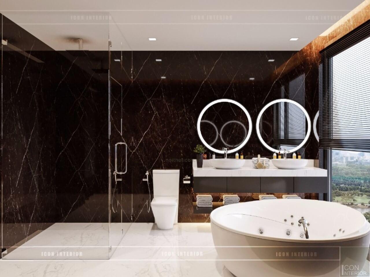 nội thất phòng tắm sang trọng