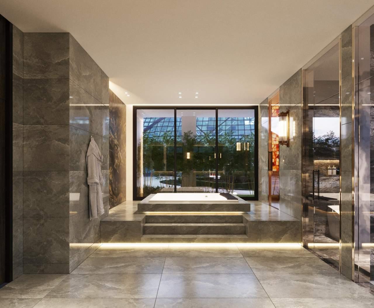 phòng vệ sinh đẹp hiện đại