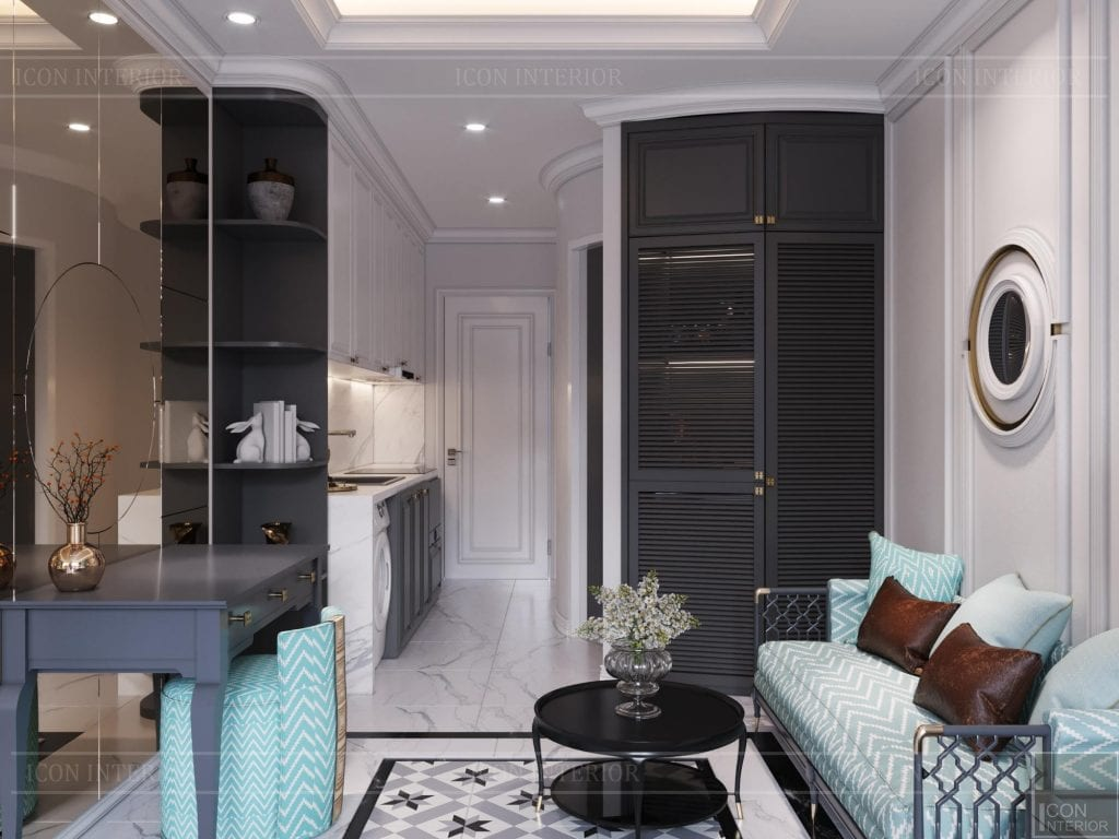 Phối màu không gian nội thất màu sắc theo đúng phong thủy tuổi nhâm tý