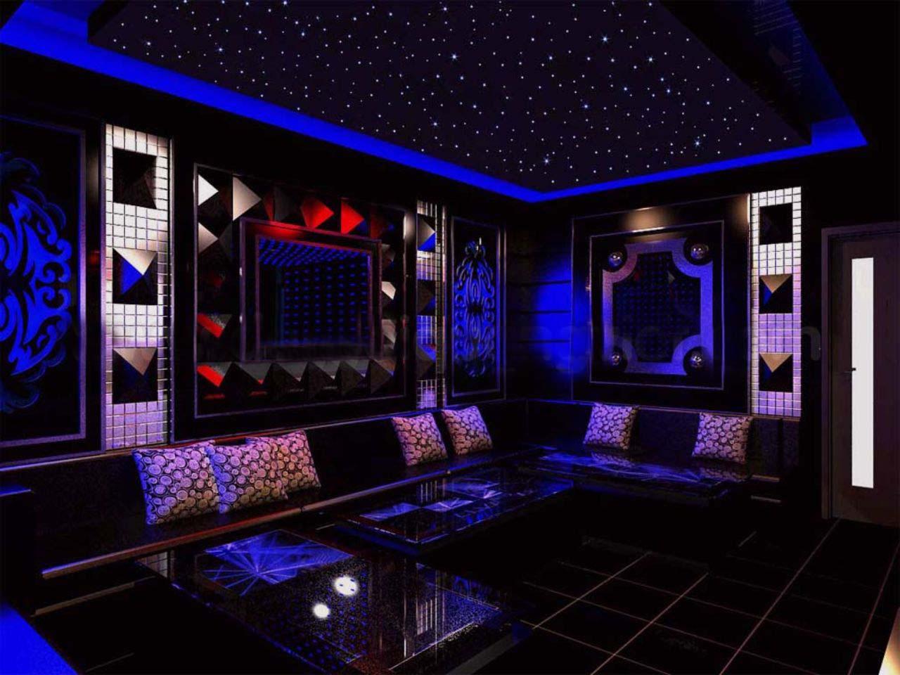 thiết kế phòng karaoke luxury