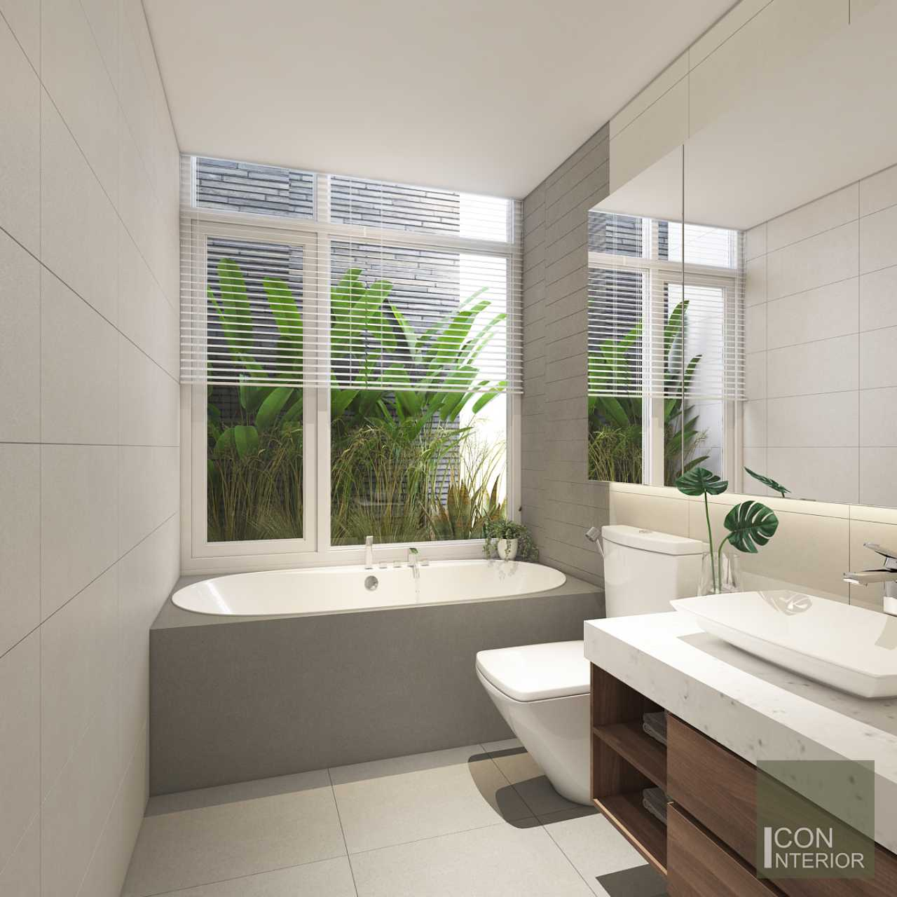 trang trí phòng tắm hiện đại