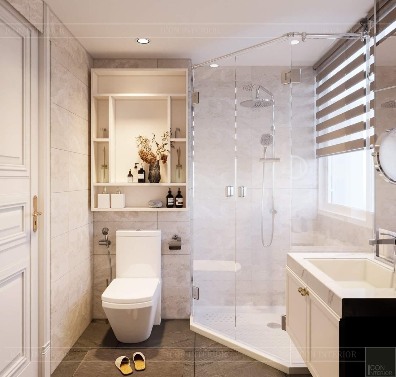 chất liệu kính nhà tắm