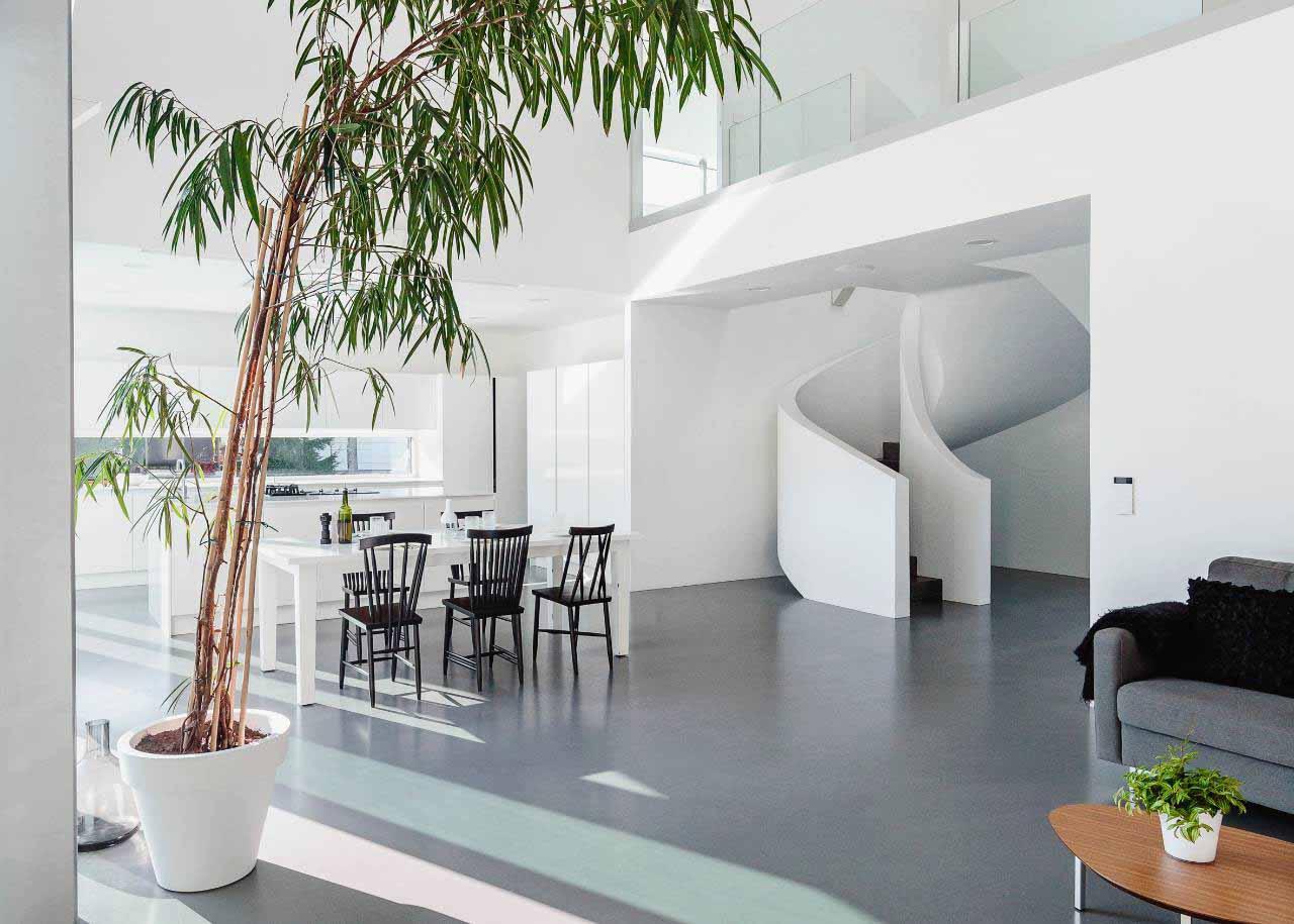 nội thất biệt thự phong cách scandinavian