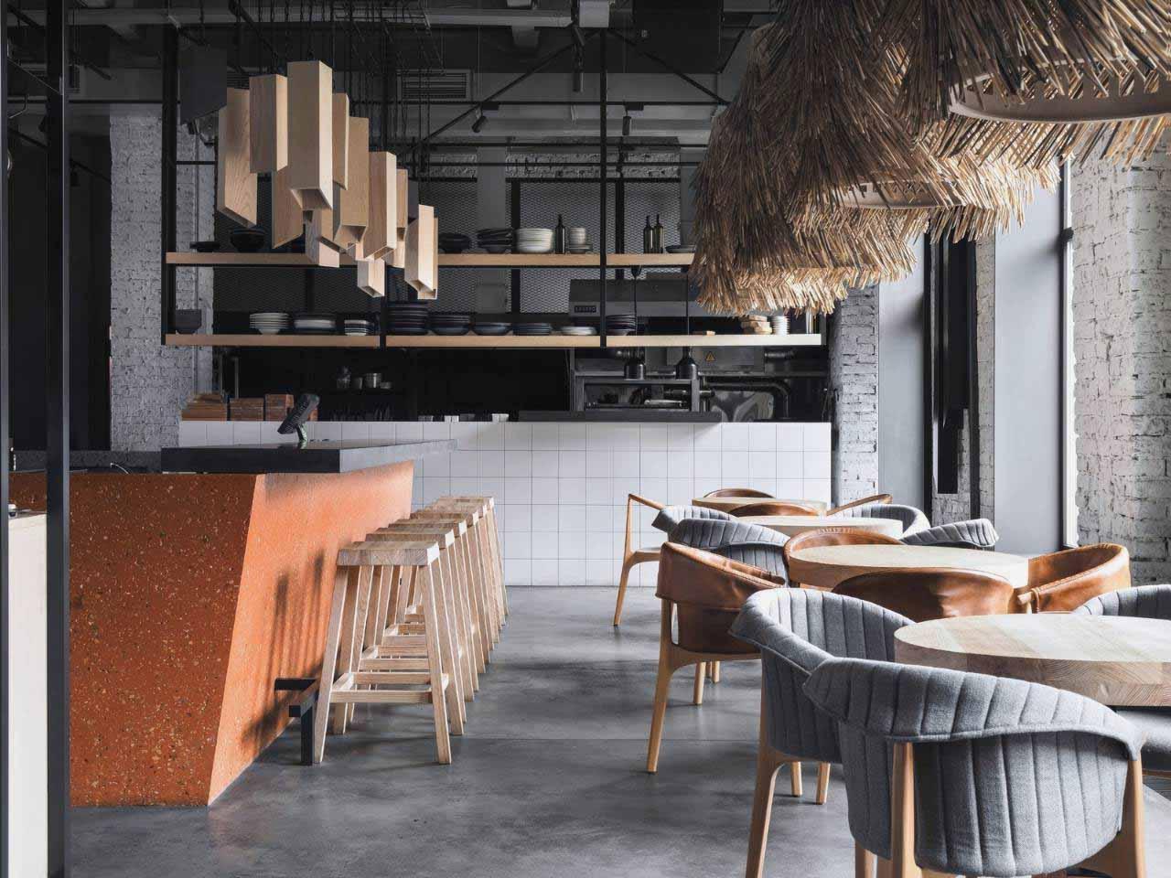 Không gian cafe phong cách Bắc Âu