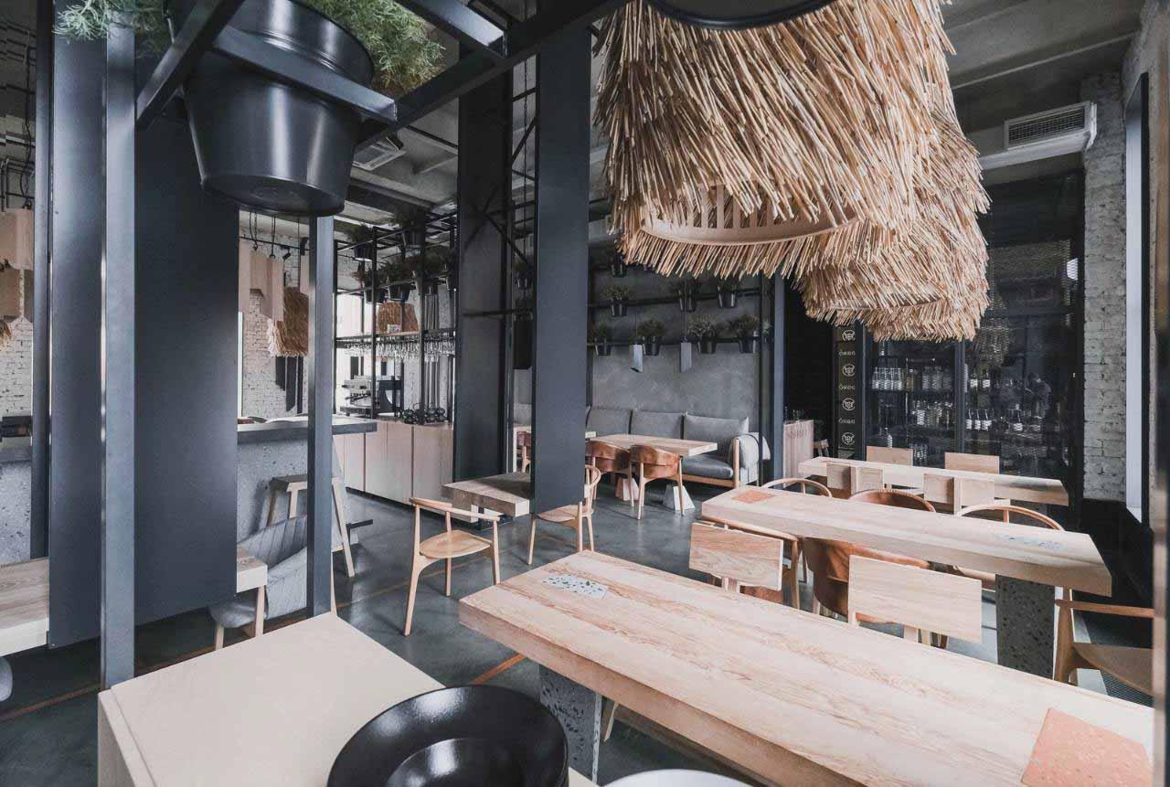 Trang trí nội thất cafe phong cách Bắc Âu