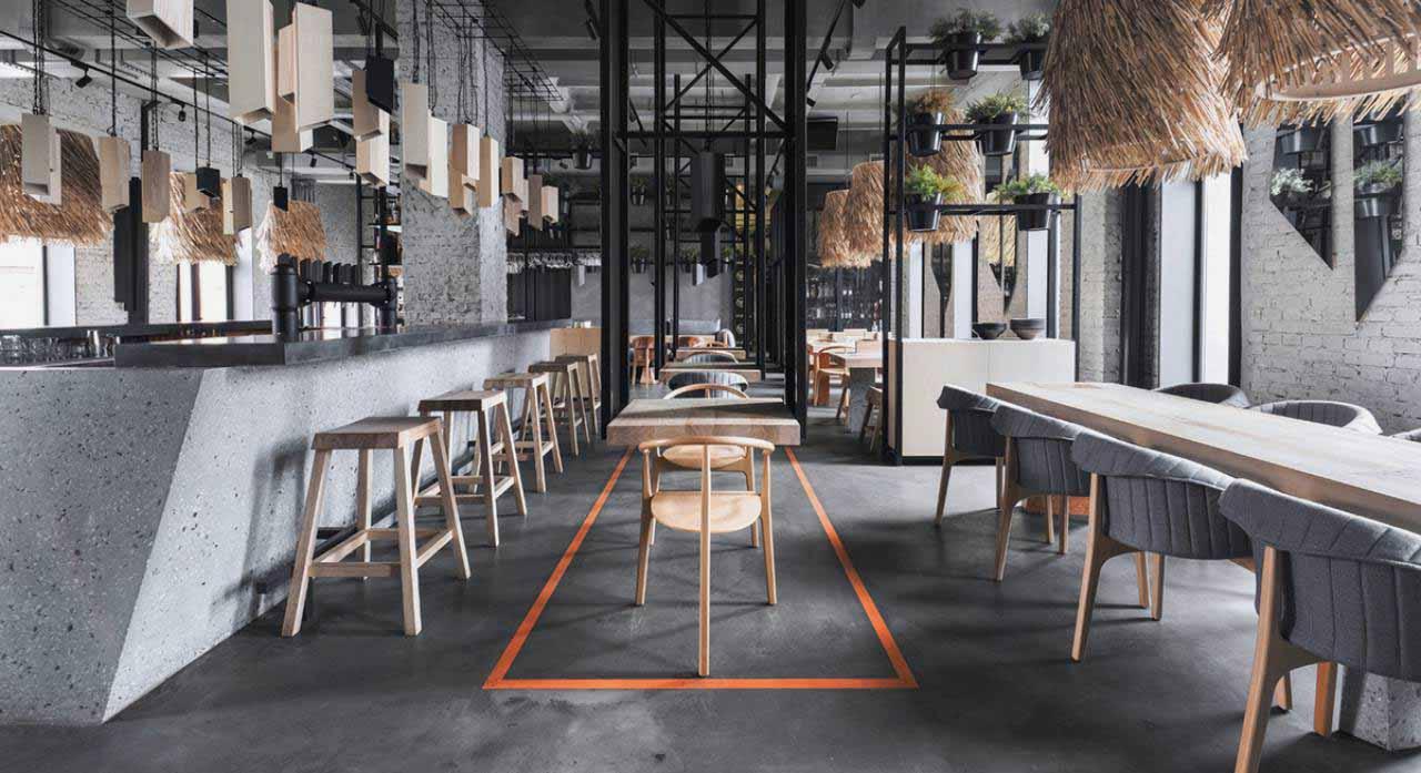 trang trí quán cafe phong cách bắc âu