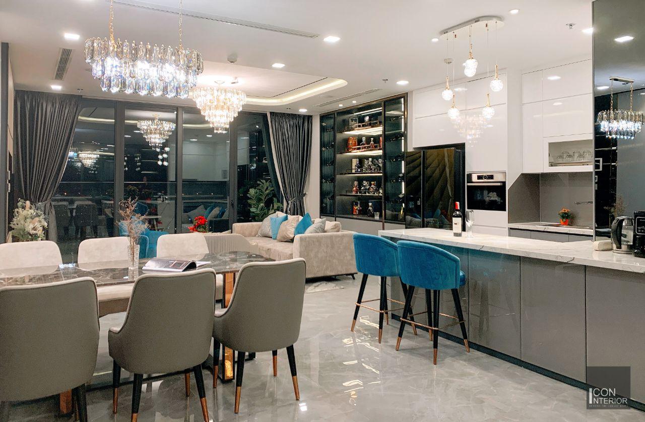Hoàn thiện nội thất chung cư Vinhomes