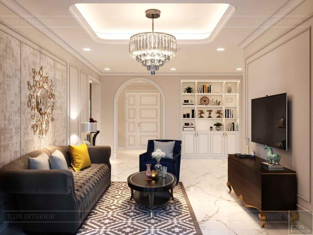 Phòng khách đẹp hợp sinh năm 1961