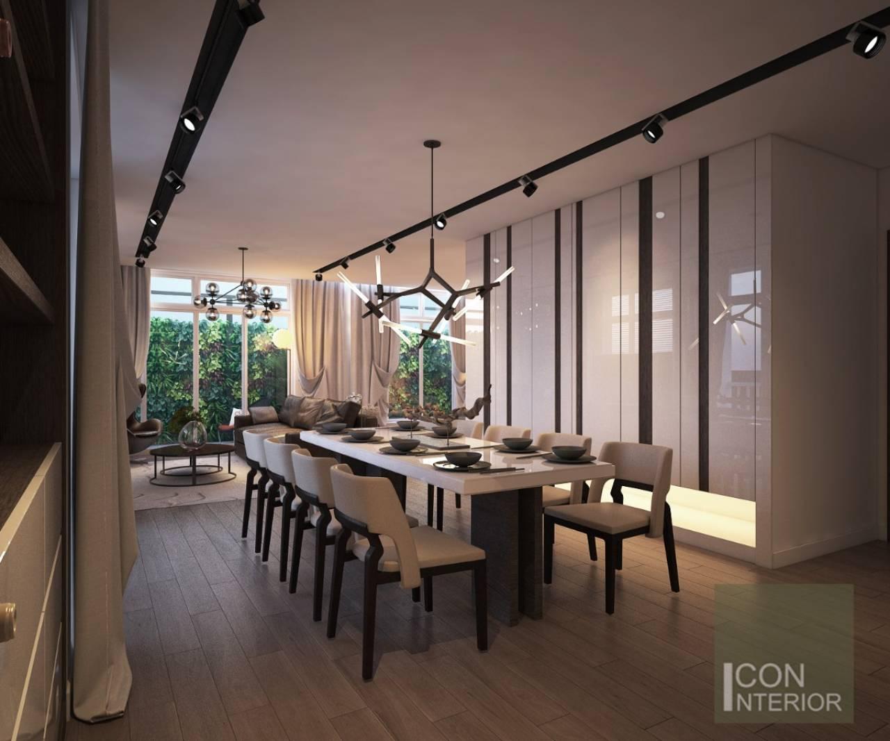 phòng ăn biệt thự hiện đại