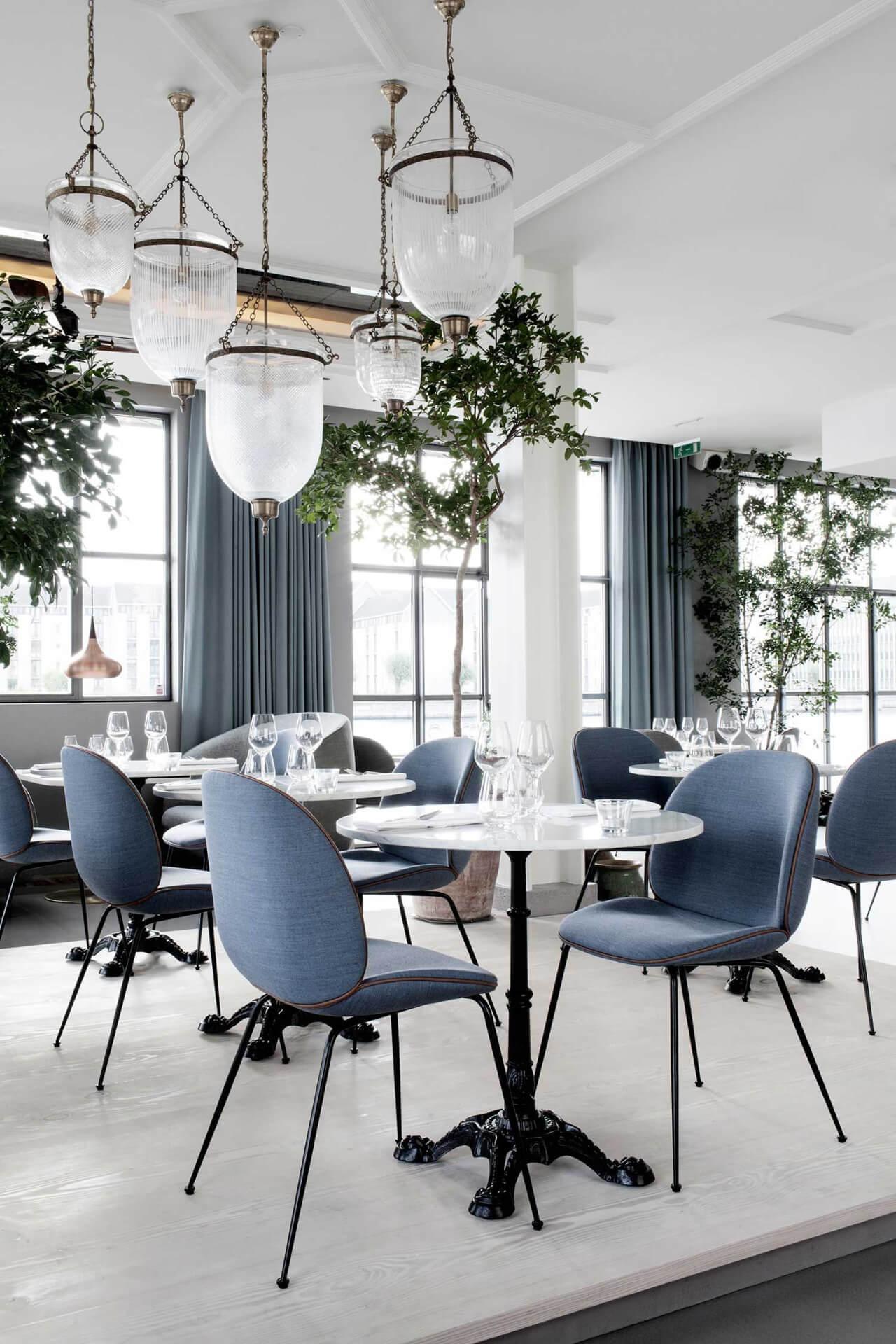phong cách scandinavian cho quán coffee