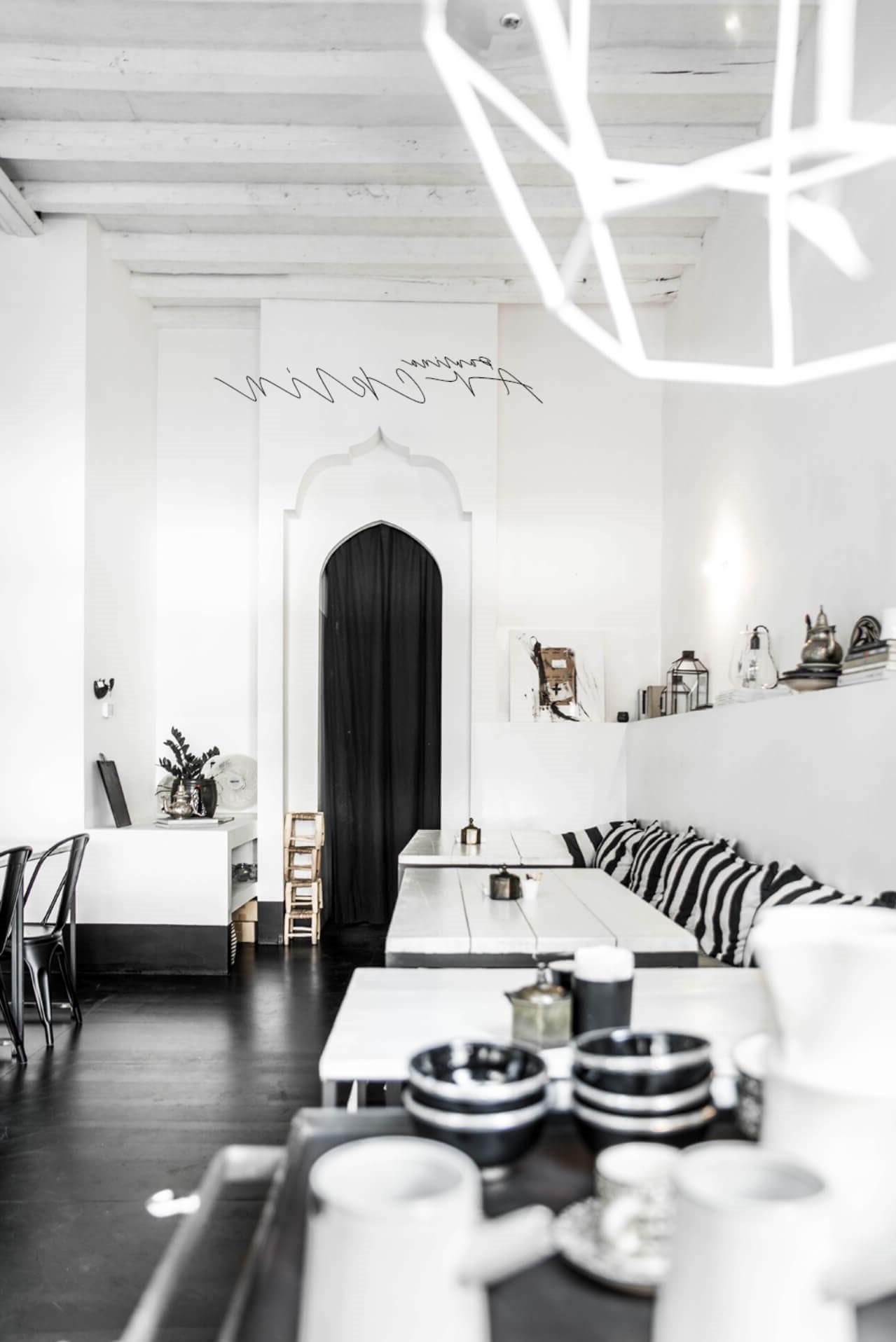 thiết kế quán cafe scandinvian