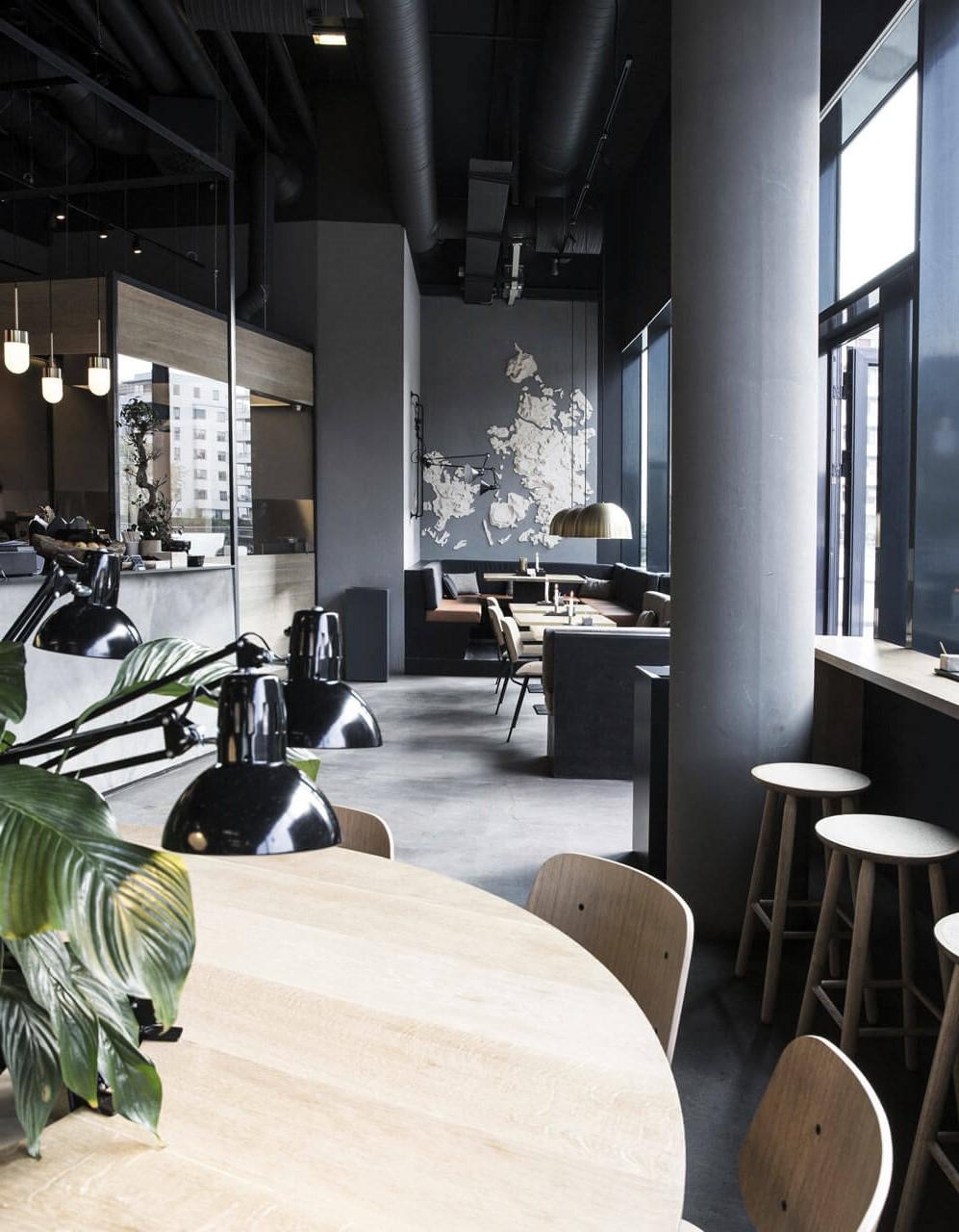 quán cafe phong cách scandinavian hiện đại
