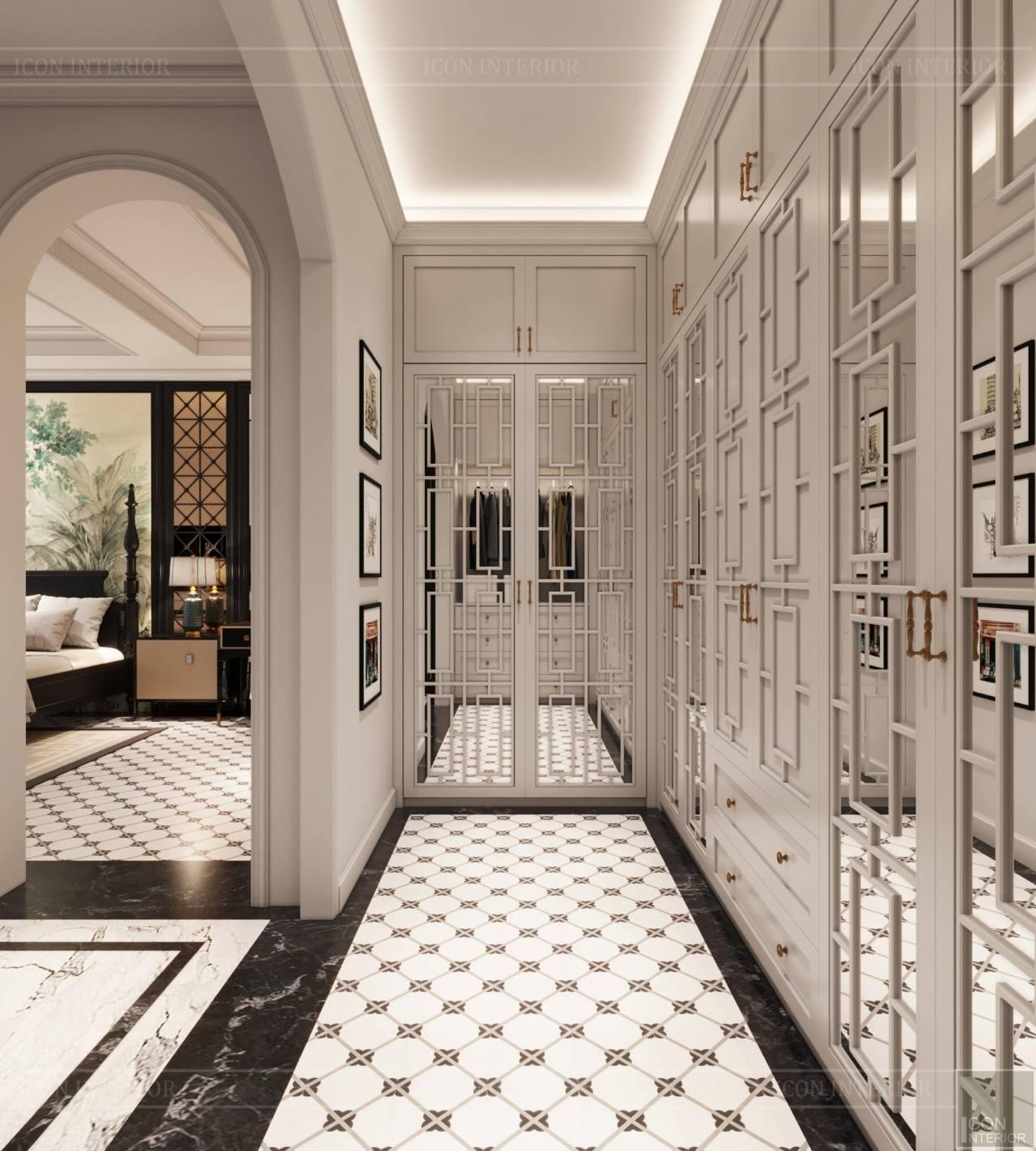 Thiết kế nội thất căn hộ dupex sang trọng
