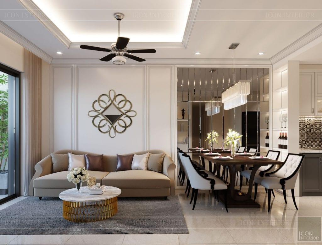 Màu sắc trung tính phù hợp mọi không gian nhà ở