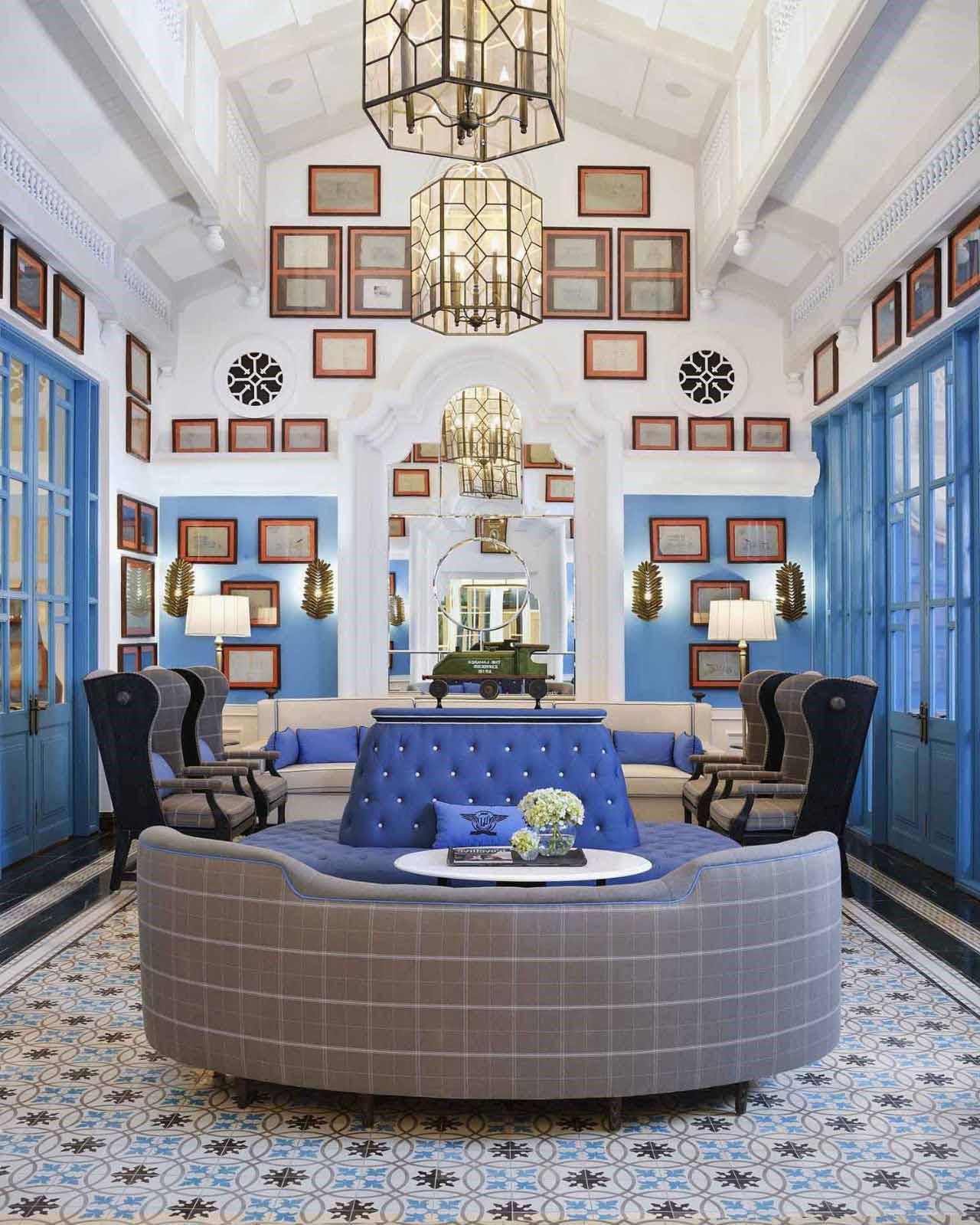 sảnh khách sạn tân cổ điển