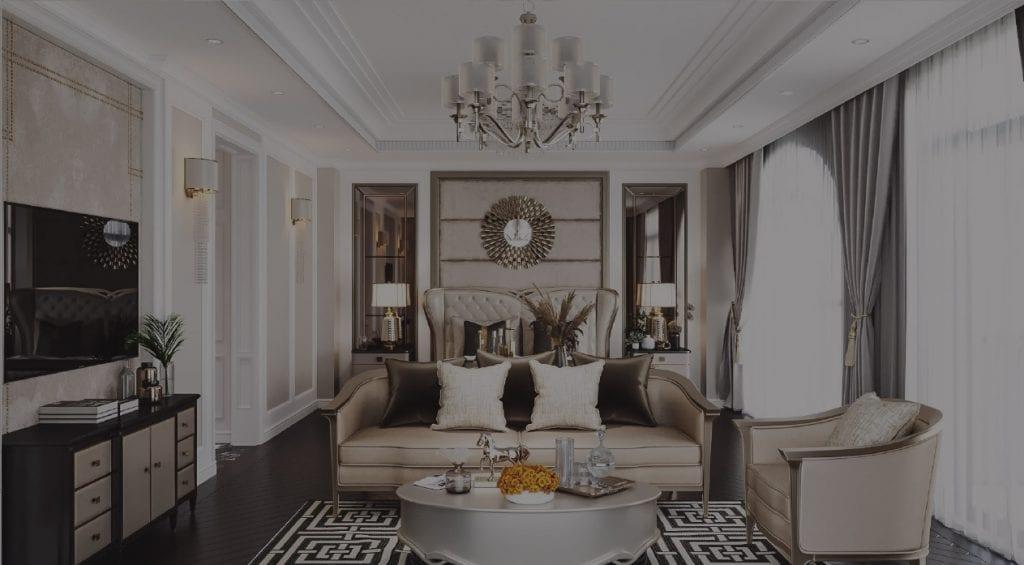 thiết kế nội thất cao cấp icon