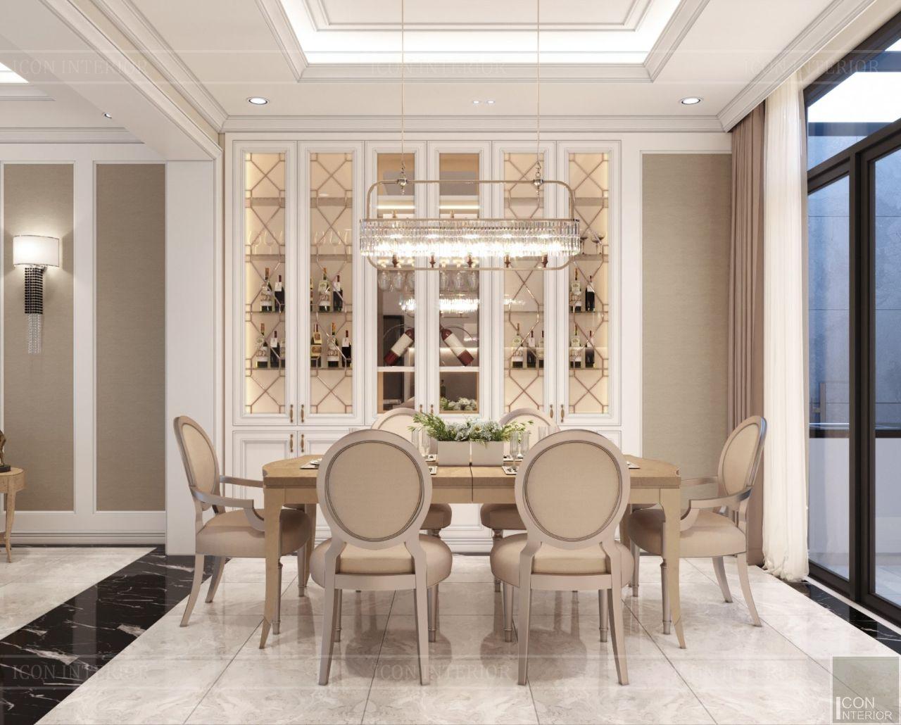 thiết kế nội thất biệt thự Lavila Nam Sài Gòn
