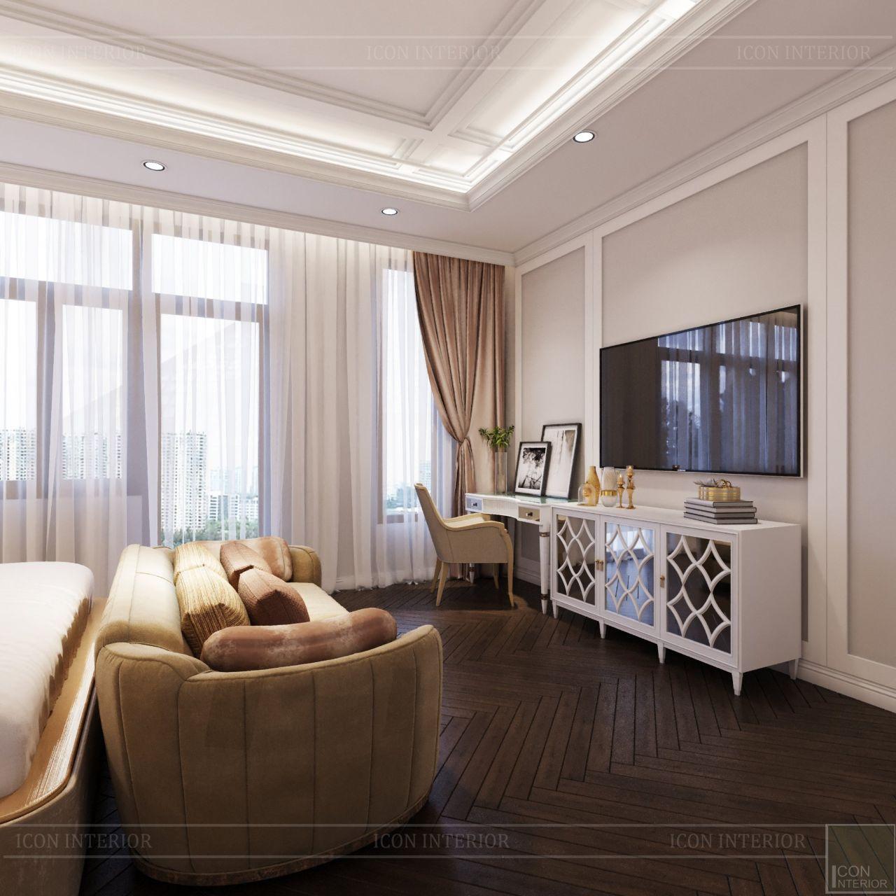 sofa phòng ngủ nhà phố Lavila Nhà Bè