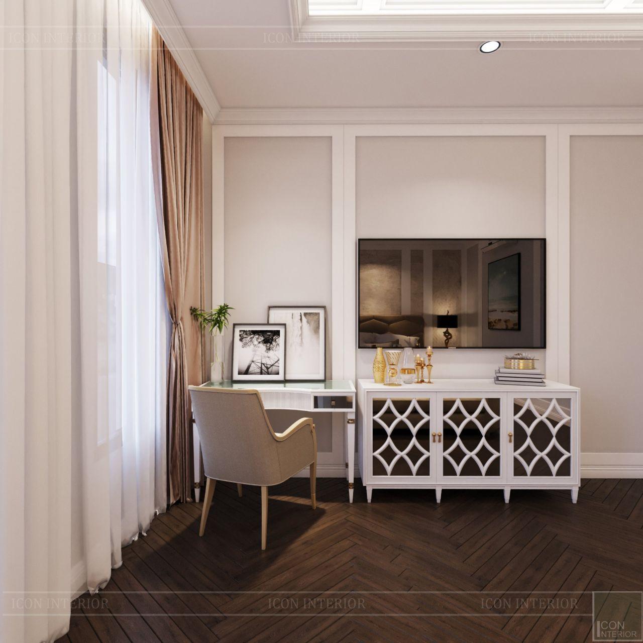 phòng ngủ nhà phố Lavila Nhà Bè