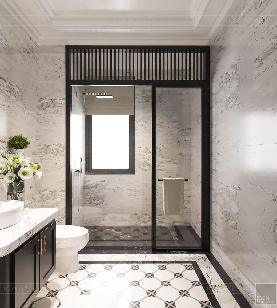 phòng tắm duplex five star west lake