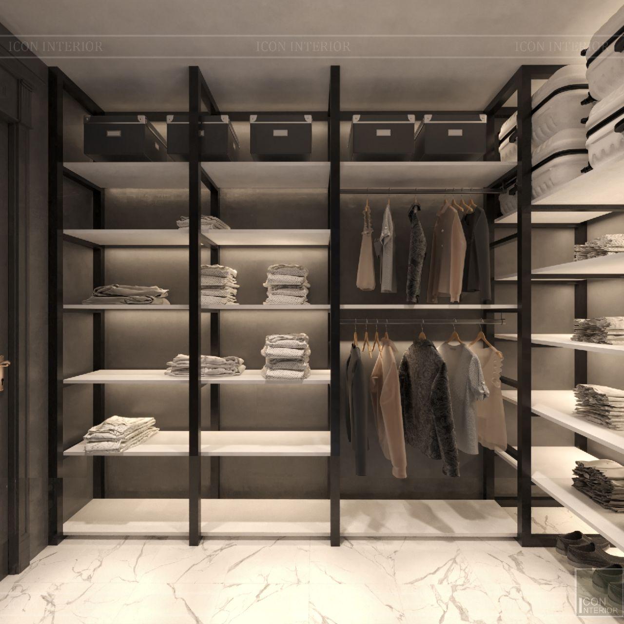 phòng giặt ủi căn hộ empire