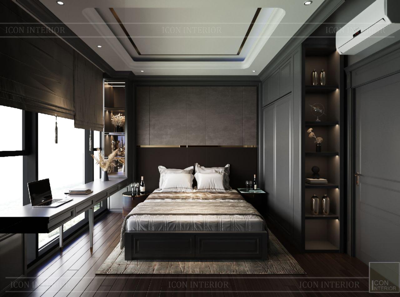 nội thất căn hộ Empire City Thủ Thiêm 3 phòng ngủ