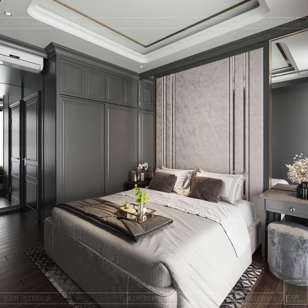 phòng ngủ chung cư empire