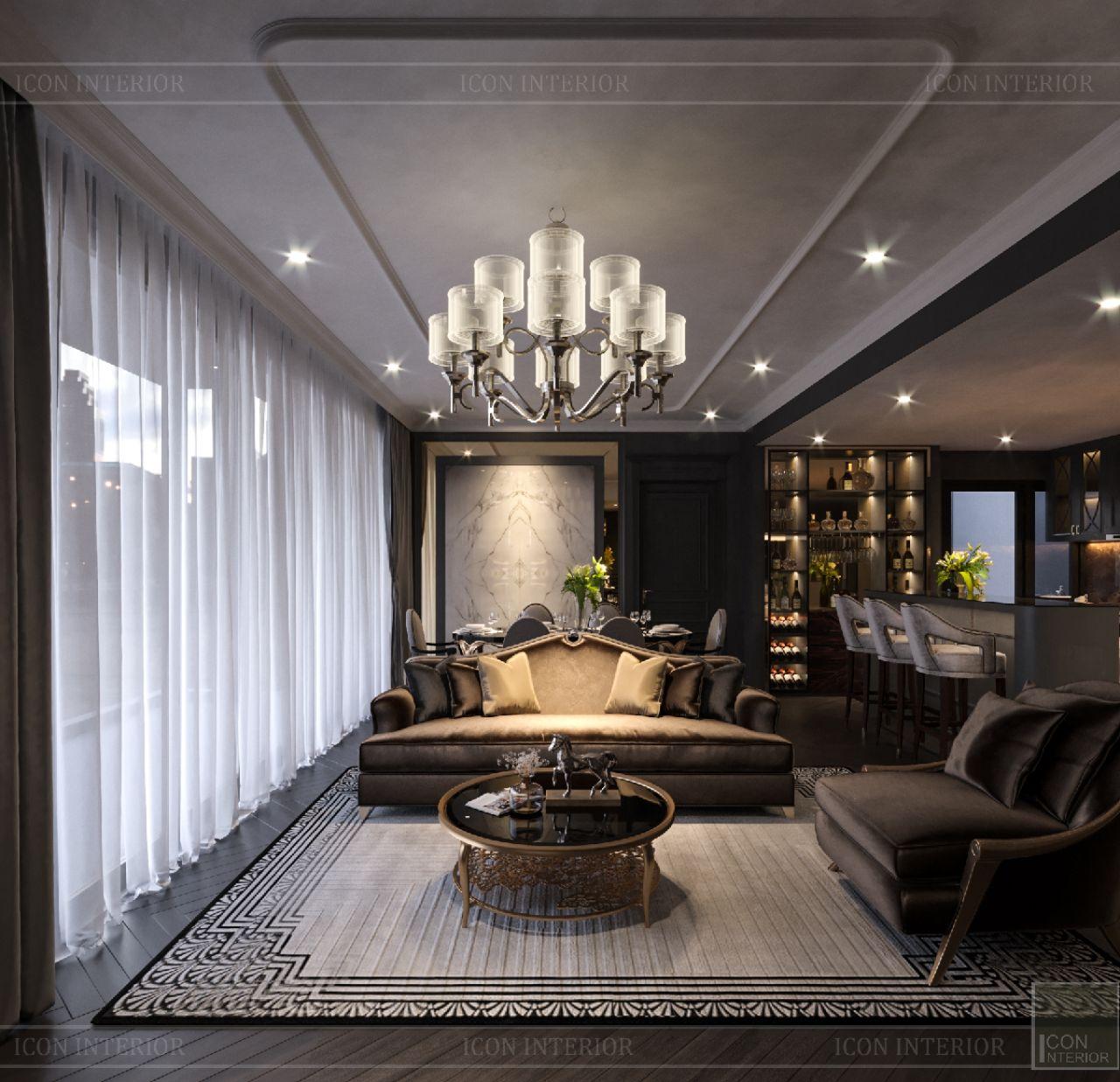 thiết kế căn hộ Empire City