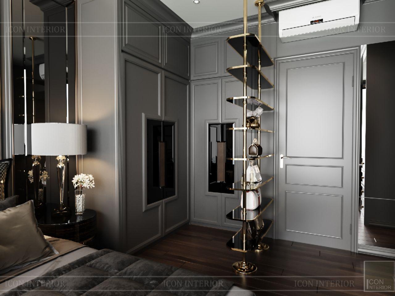 phòng ngủ căn hộ empire