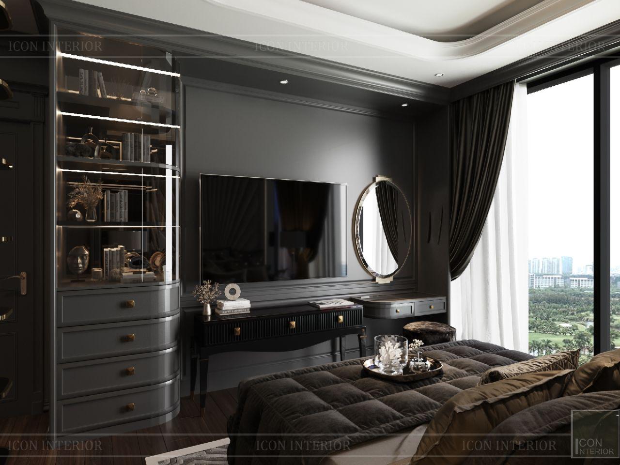 nội thất căn hộ Empire City Thủ Thiêm 149m2 3 phòng ngủ