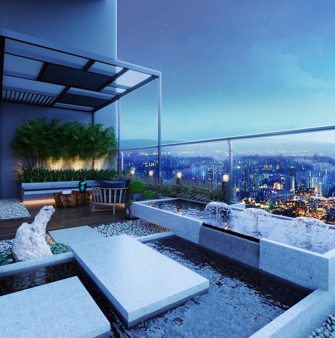 phân biệt căn hộ duplex và penthouse