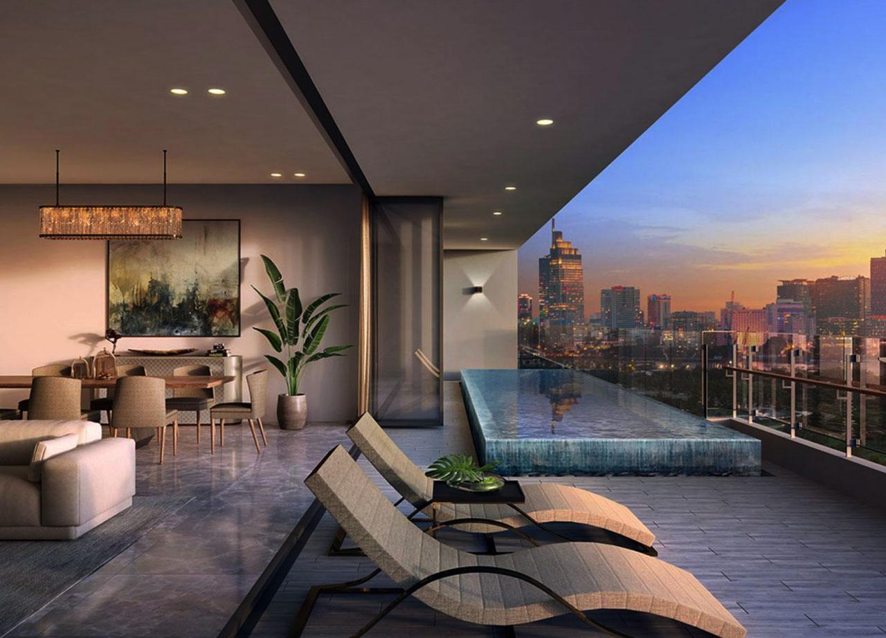 phân biệt căn hộ duplex và skyvilla