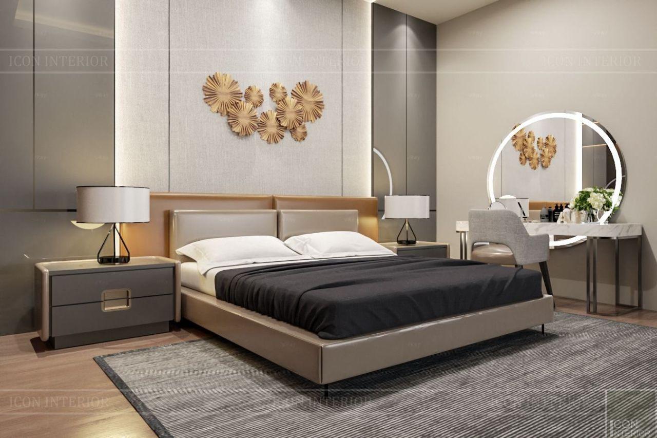 phòng ngủ hiện đại villa bình dương 1500m2 ms. Nhi