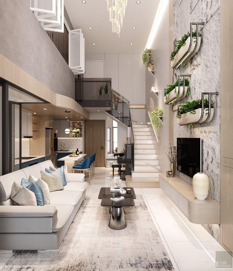 duplex phong cách sống xanh
