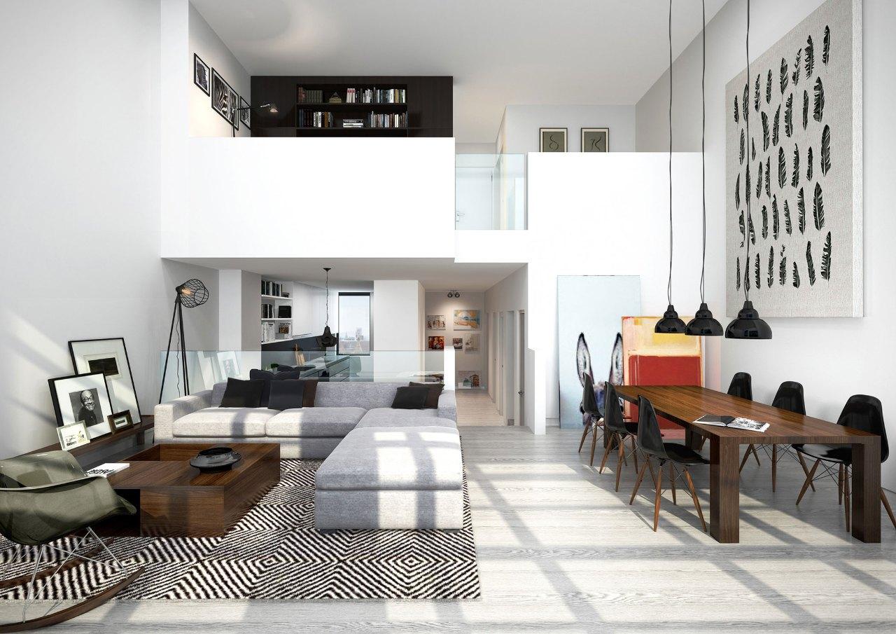 mẫu thiết kế căn hộ mini