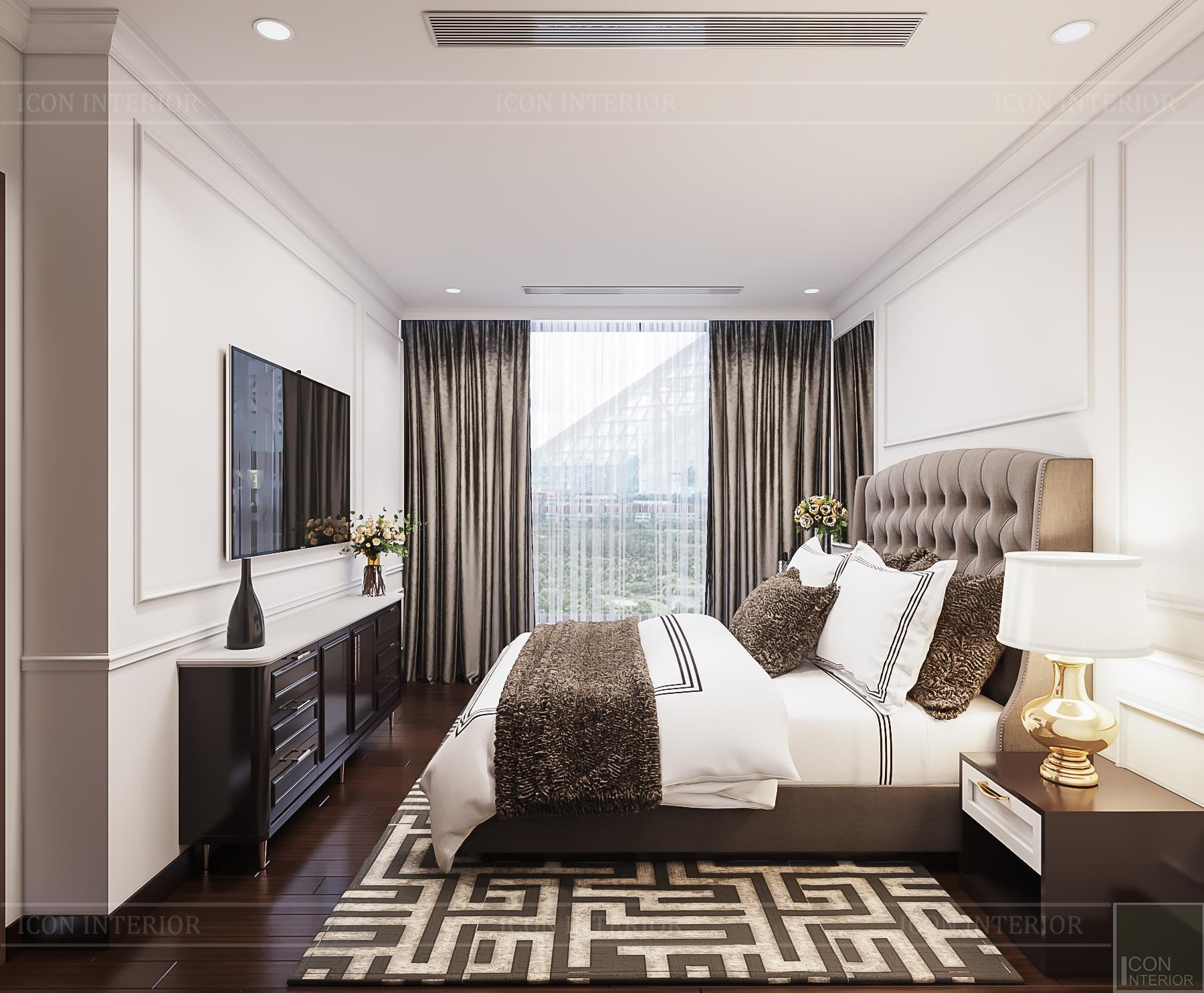 phòng ngủ chung cư mini đẹp