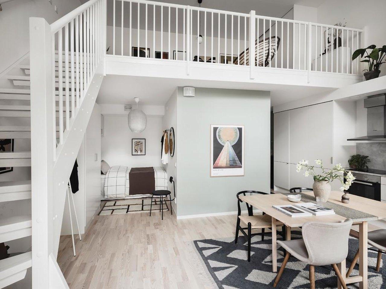 thiết kế căn hộ nhỏ hiện đại