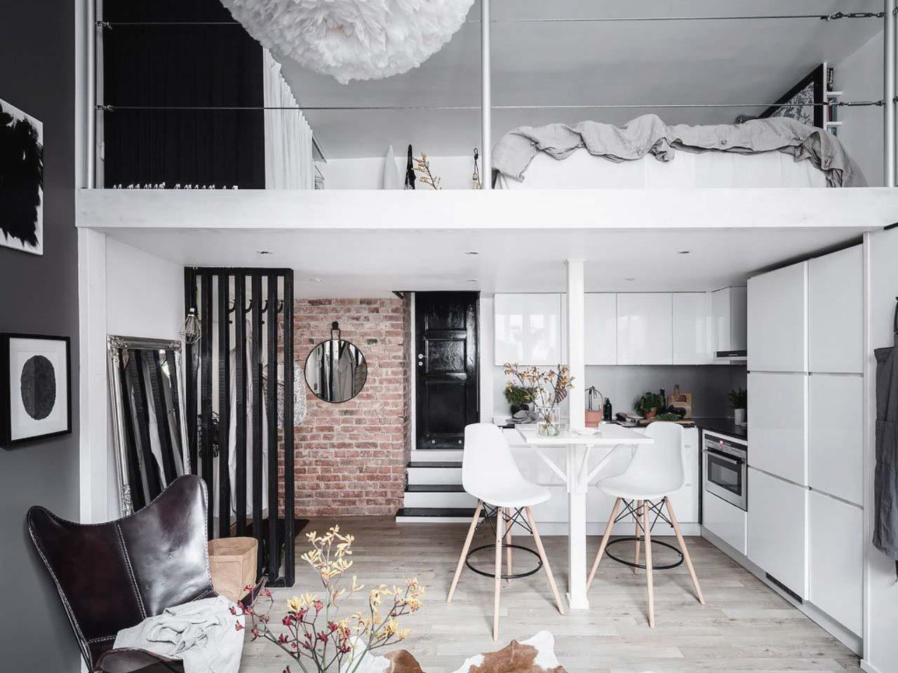 thiết kế gác xép cho chung cư