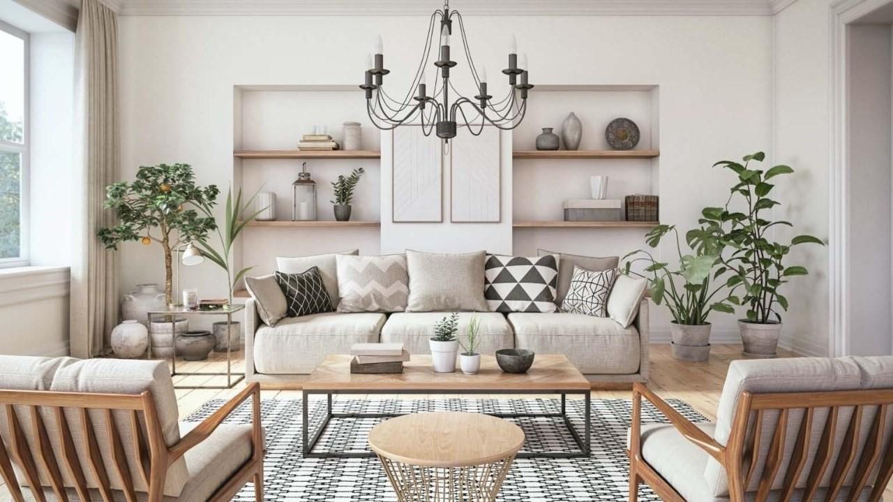 thiết kế nội thất căn hộ chung cư phong cách scandinavian