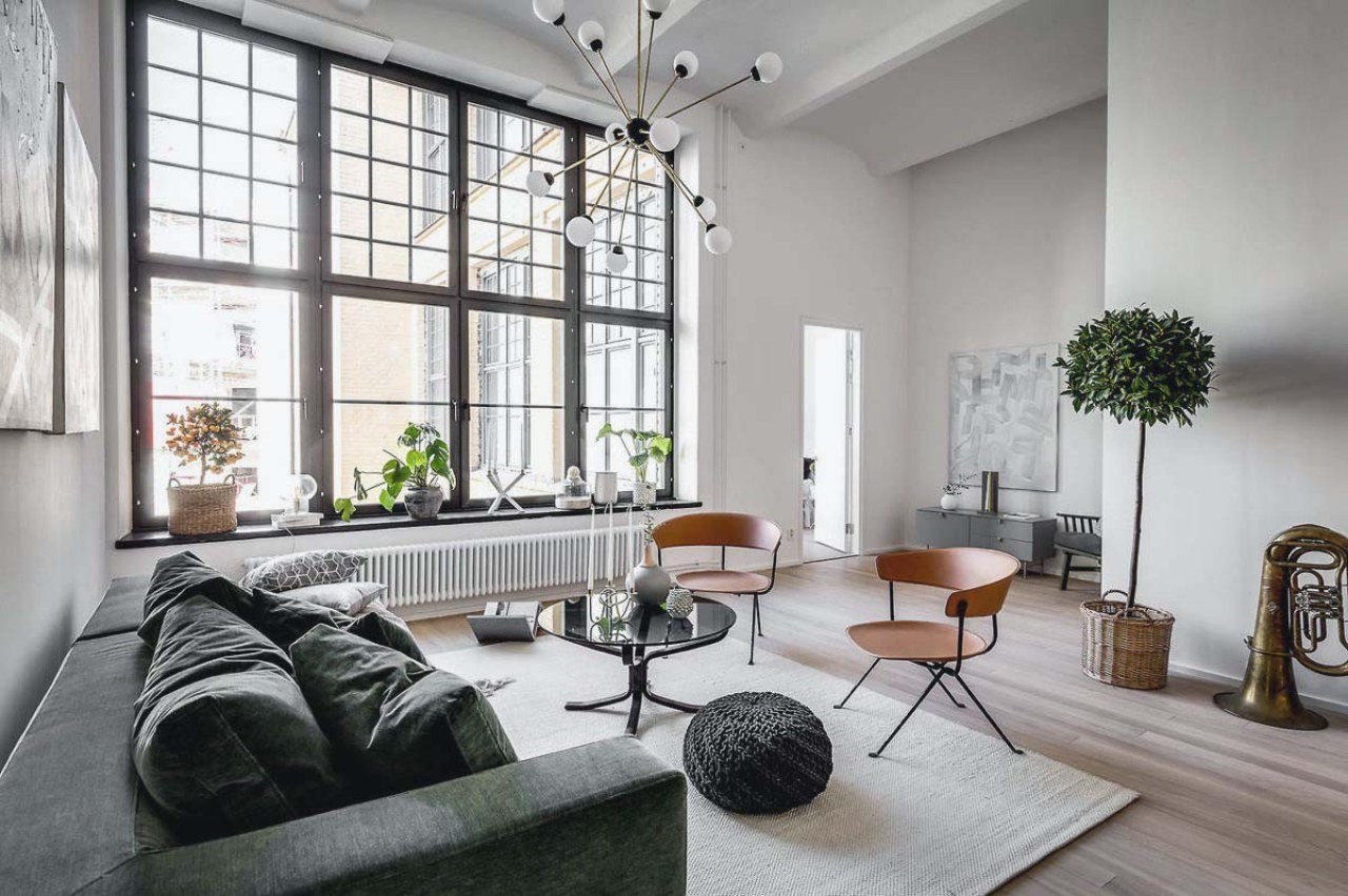 thiết kế nội thất chung cư phong cách scandinavian