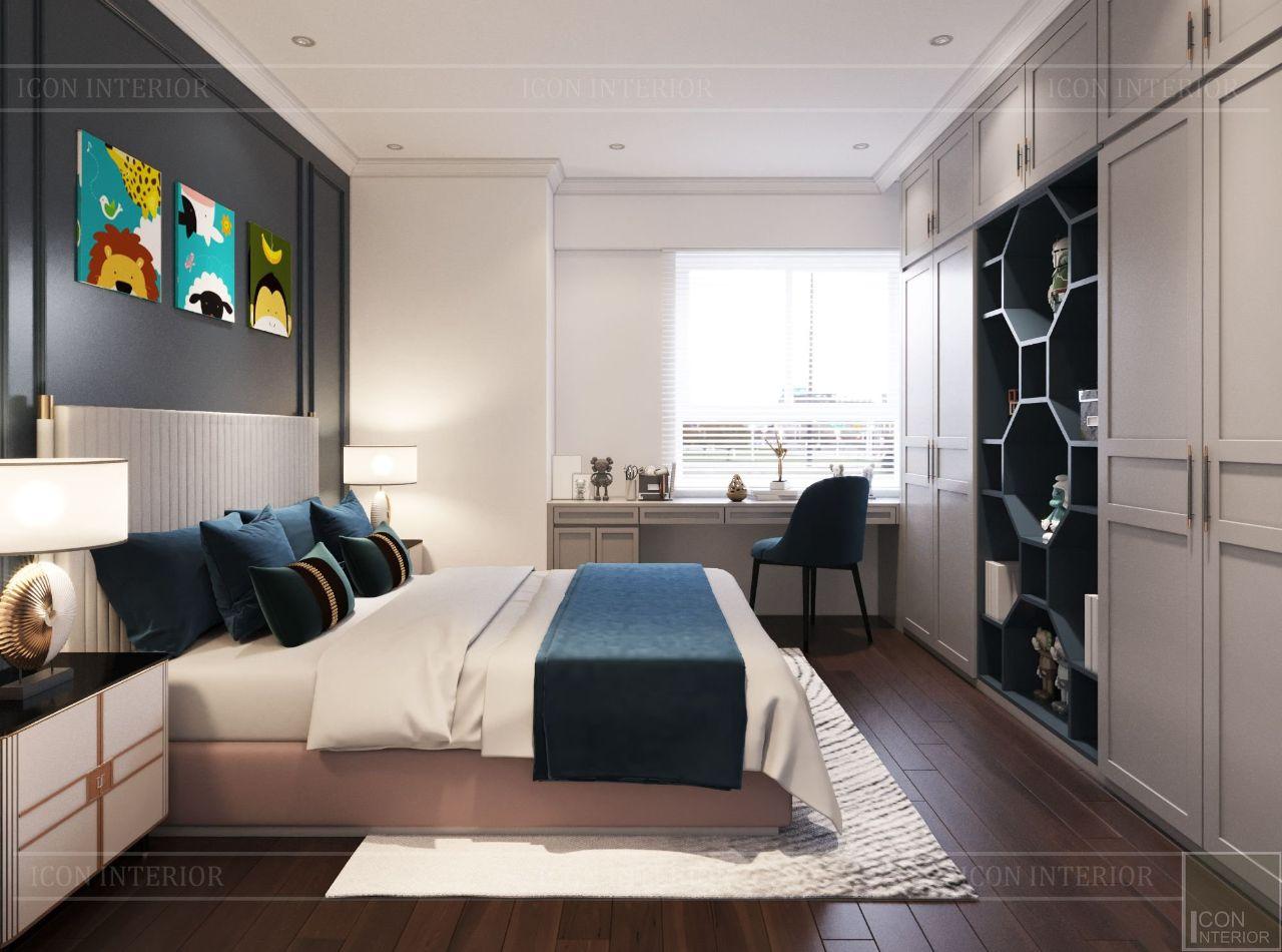thiết kế nhà chung cư 3 phòng ngủ