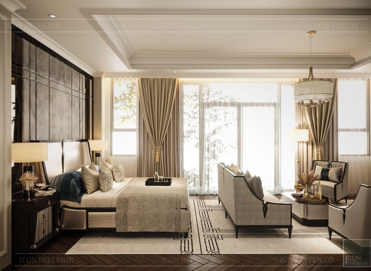 thiết kế villa tân cổ điển vạn phúc city