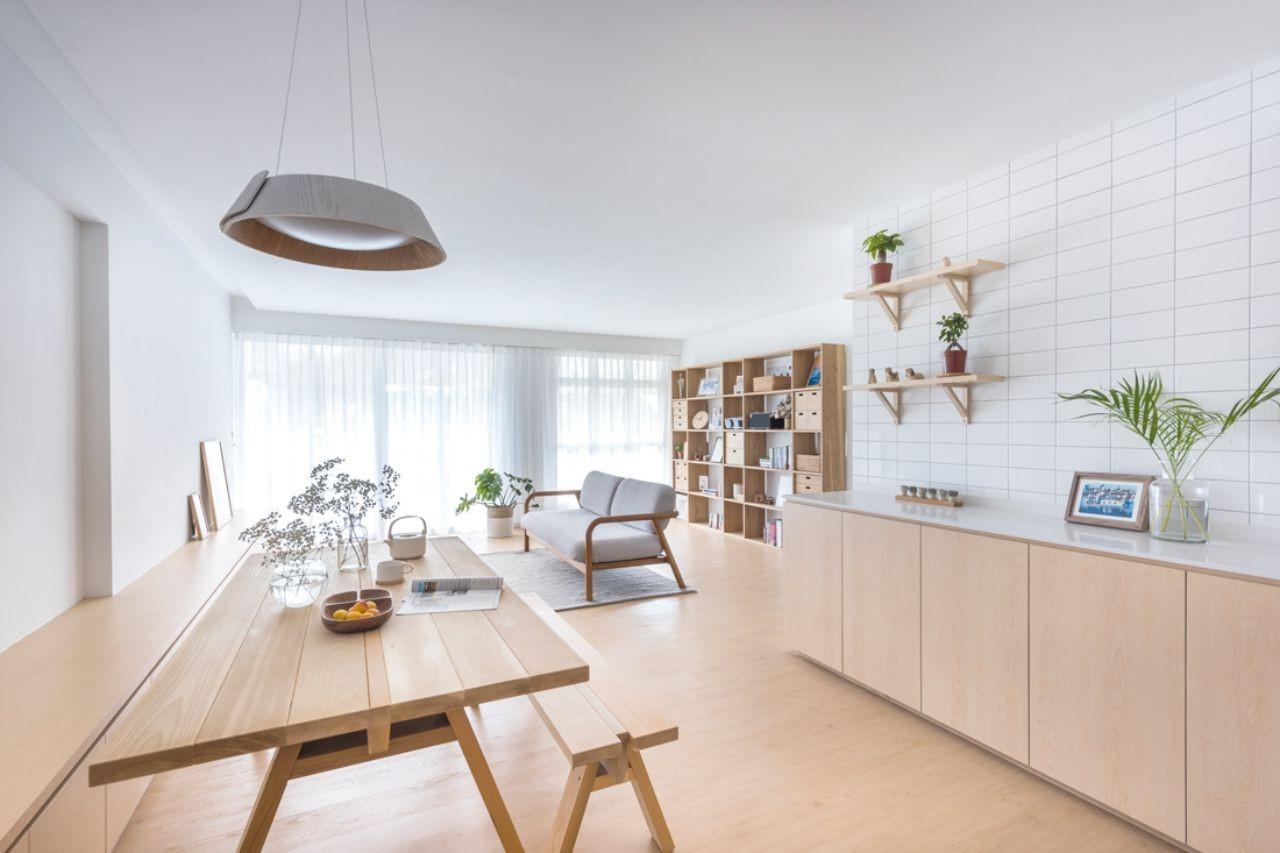 thiết kế căn hộ phong cách Nhật Bản
