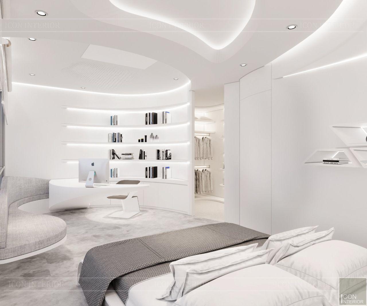 thiết kế căn hộ tối giản