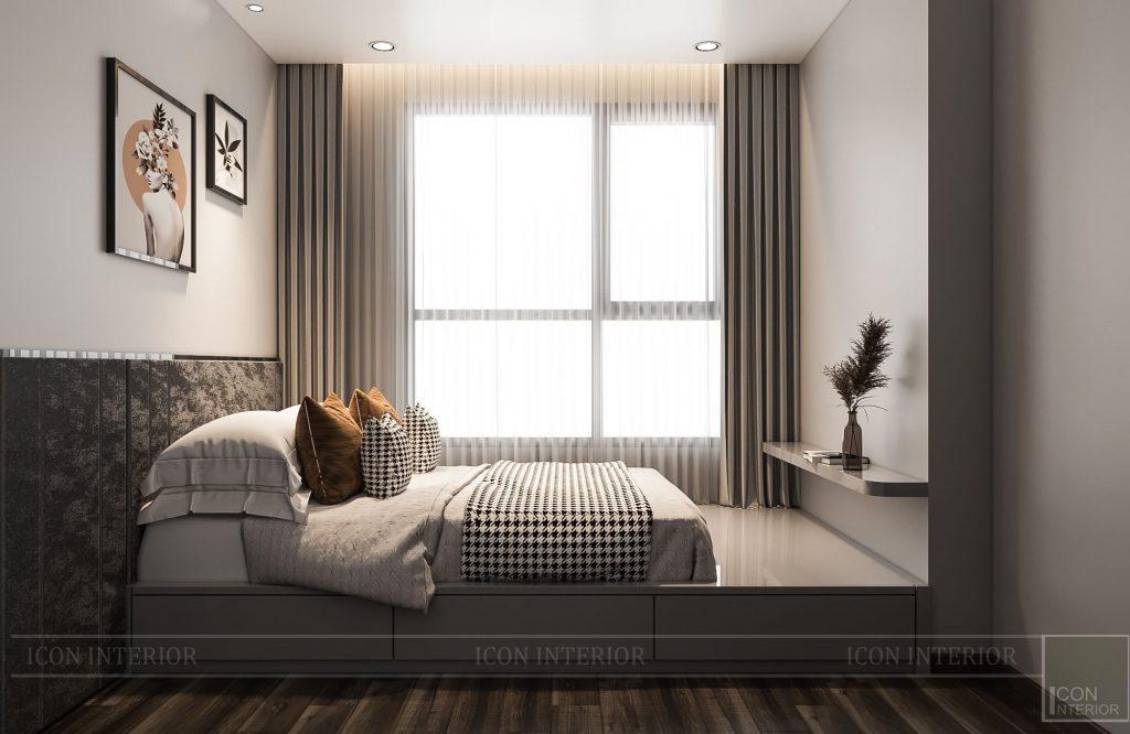 thiết kế chung cư 56m2