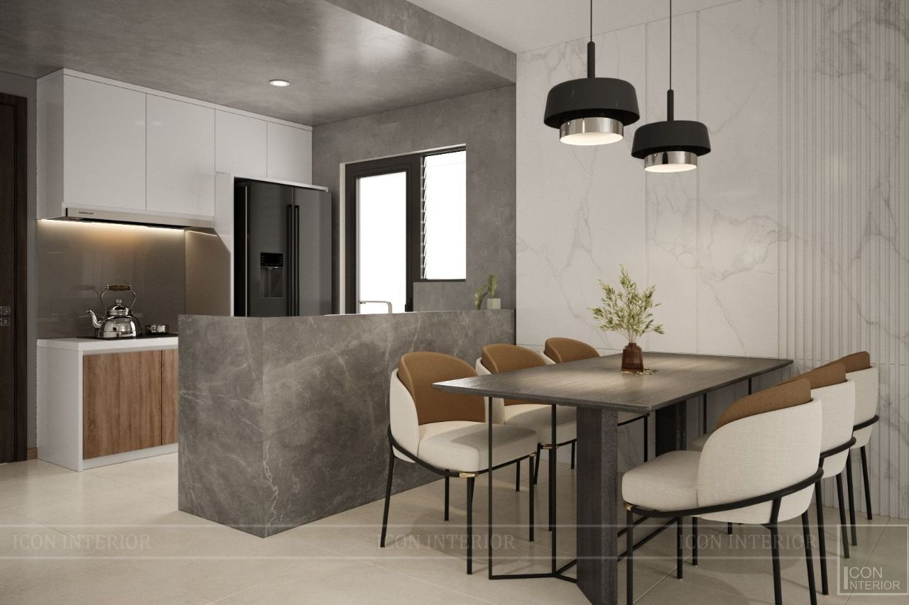 thiết kế chung cư 75m2