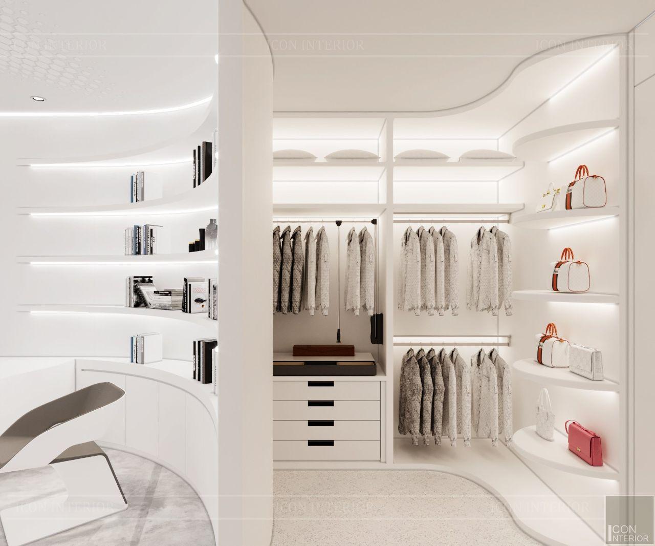 thiết kế chung cư phong cách tối giản