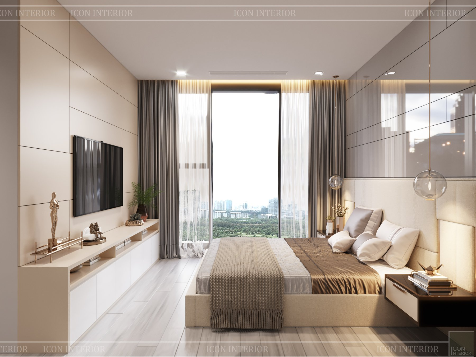 thiết kế nhà chung cư 56m2