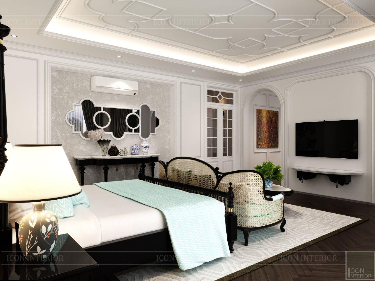 thiết kế nội thất biệt thự huế 1000m2